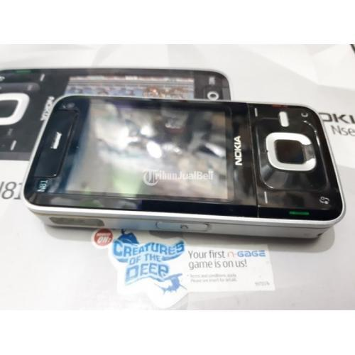 Hape Jadul Nokia N81 Seken Original Fullset Eks Garansi Nokia Indonesia - Jakarta