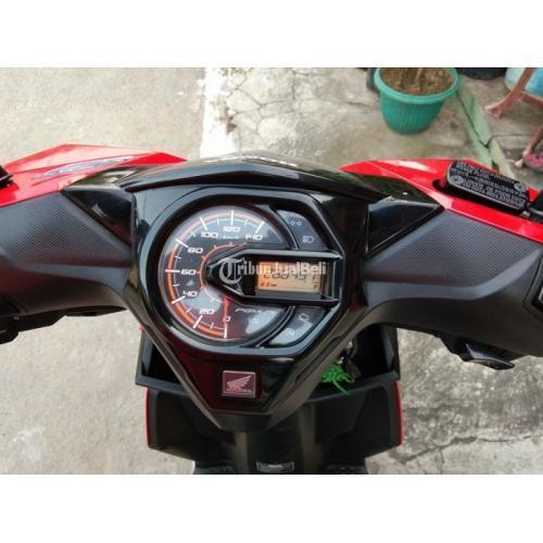 Motor Honda Beat Eco ISS 2017 Bekas Mulus Surat Komplit Harga Nego - Sukoharjo