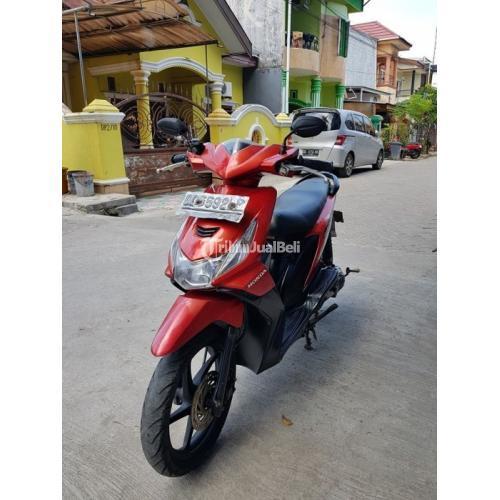 Honda Beat Karbu 2011 Motor Matik Bekas Surat Lengkap Mesin Aman - Makassar