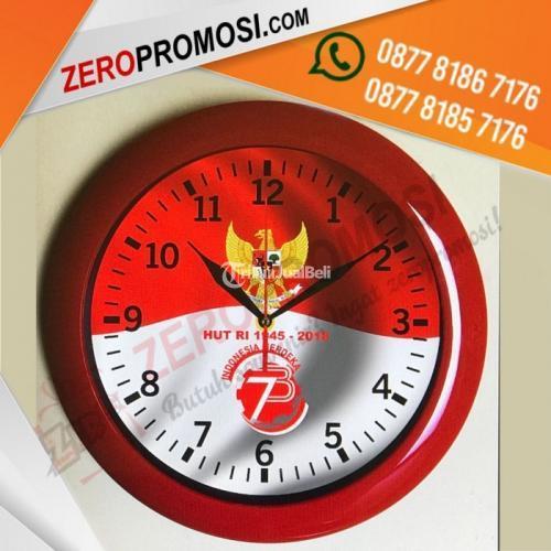 Souvenir Jam Merah Putih Custom Special Kemerdekaan - Tangerang