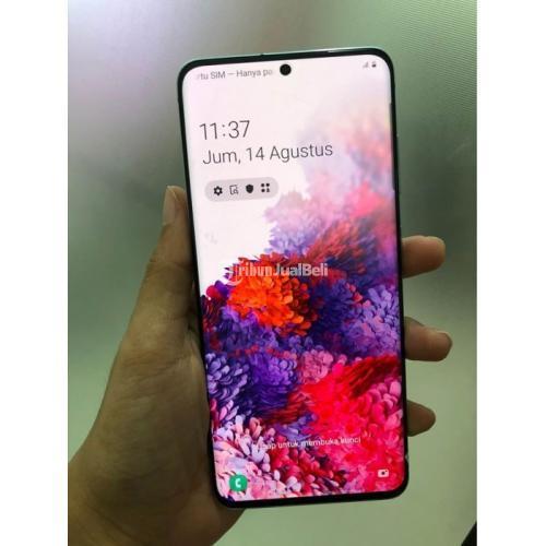 HP Samsung S20 Bekas Harga Rp 9 Juta Ram 8GB 128GB Lengkap Murah - Semarang