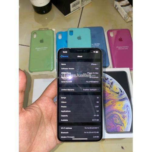 HP Iphone Xs Max 64GB Bekas Harga Rp 10,5 Juta Lengkap ...