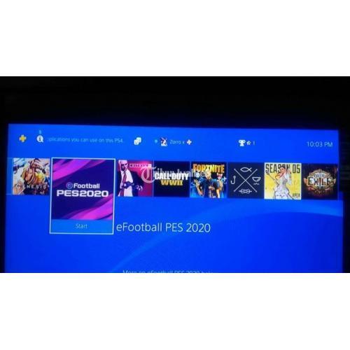 Konsol Sony PS4 Slim Bekas Harga Rp 3,8 Juta Update Game Terbaru Garansi - Pekalongan