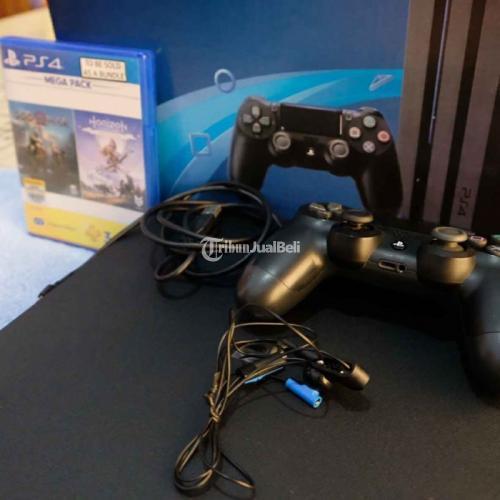 Konsol Sony PS4 Pro Bekas Harga Rp 5 Juta HDD 1TB Lengkap Siap Main Murah - Jogja