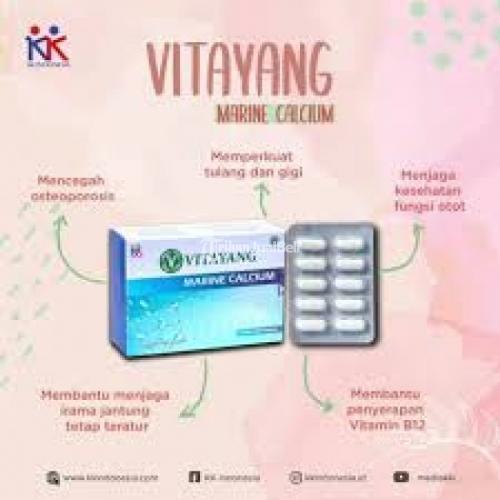 Sakit Gigi Karena Kekurangan Kalsium? Konsumsi Vitayang Marine Calcium - Bandung