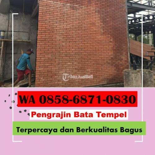 Produsen Bata Tempel dan Bata Pres - Magelang