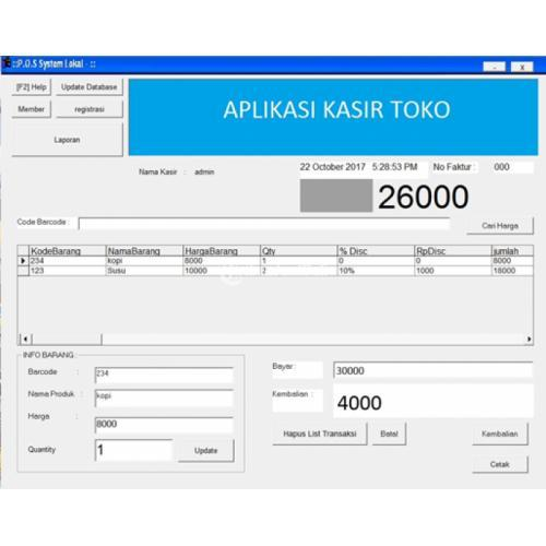 Aplikasi Kasir Cocok untuk Pengelolaan Toko & Minimarket - Pekanbaru