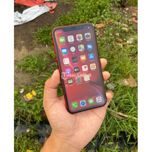 HP Apple iPhone XR 64GB Red Product Ex Inter USA Lengkap ...