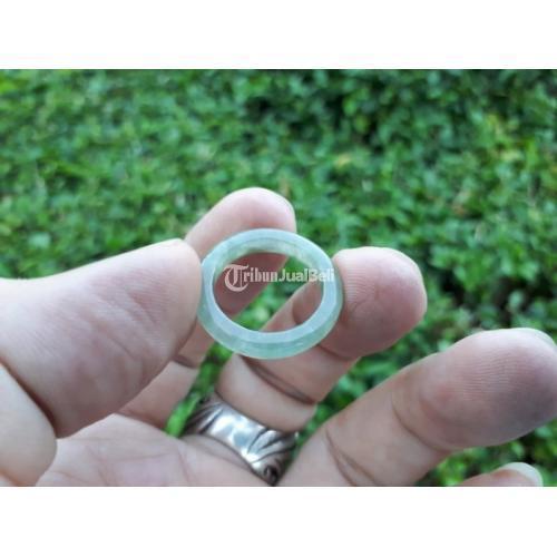 Cincin Batu Giok Jadeite Jade Type A New Origin Burma JDT019 - Jakarta