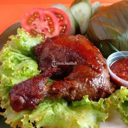 Nasi Kotak Ayam Bakar Sambal Lalapan - Semarang