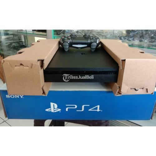 Konsol Sony PS4 Slim Fullset Unit Baru Game Boleh Request - Bekasi