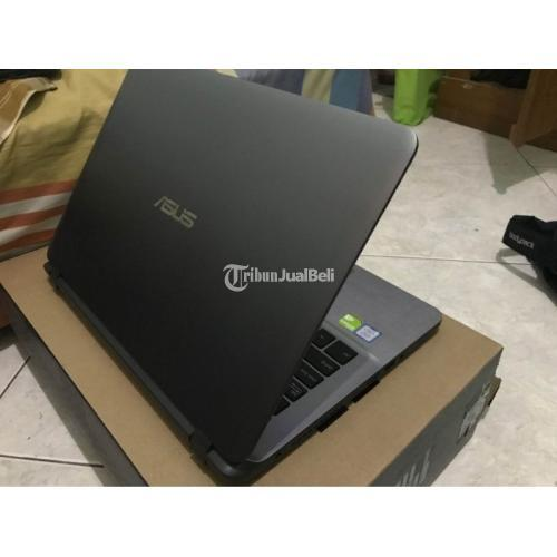 Laptop Asus A407U Bekas Harga Rp 7 Juta Core i5 Ram 4GB Normal Lengkap - Jogja