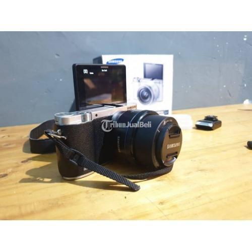 Kamera Mirrorkess Samsung NX3000 20.3 APS Flip Display Fullset - Jogja