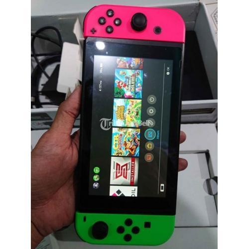 Konsol Game Nintendo Switch V1 Sxos 128GB Bekas Harga Nego - Sukoharjo