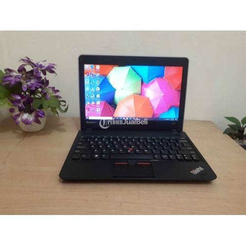 Netbook Lenovo Thinkpad E125 Bekas Harga Rp 1,9 Juta Ram 4GB Normal Murah - Jakarta