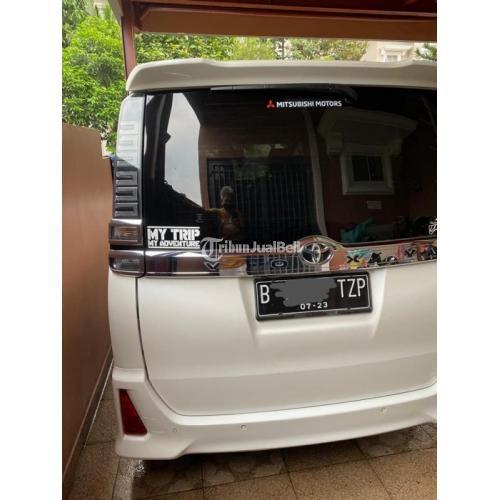 Mobil Bekas Toyota Voxy 2018 Mulus Terawat Pajak Panjang Harga Nego - Tangerang