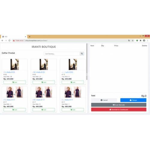 Aplikasi Kasir Toko Online di Sidoarjo - TribunJualBeli.com