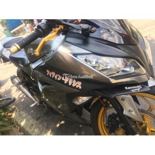 Harga Motor Kawasaki Ninja 250 FI Bekas Rp 36 Juta Bisa Kredit Tahun 2014 - Jakarta