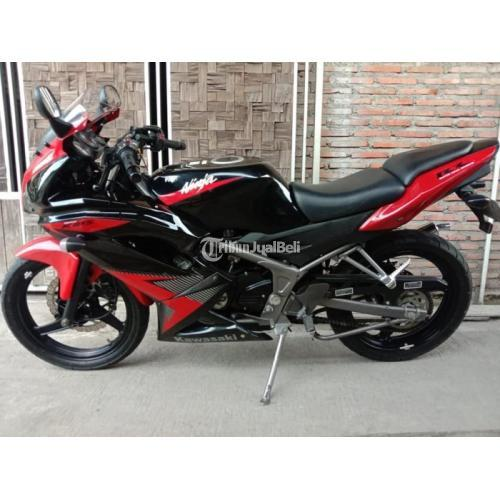 Motor Bekas Kawasaki Ninja RR New 2014 Mulus Nominus Harga Murah - Solo