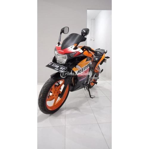 Motor Sport Bekas Honda CBR Repsol 2013 CBU Sehat Surat Lengkap Harga Murah - Semarang