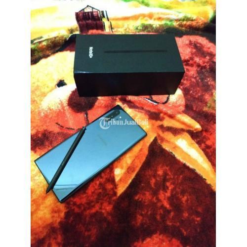 Harga HP Samsung Note 10 Plus Bekas Rp 9,95 Juta Ram 12GB 256GB Murah Garansi - Makassar