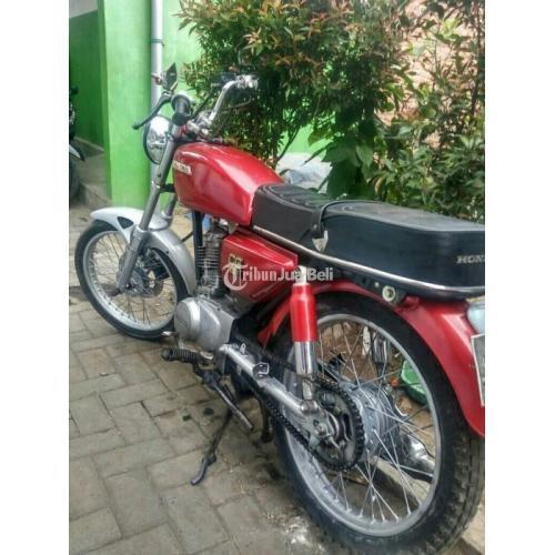 Harga Motor Honda CG 110 Bekas Rp 3,7 Juta Nego Tahun 1982 Murah - Malang