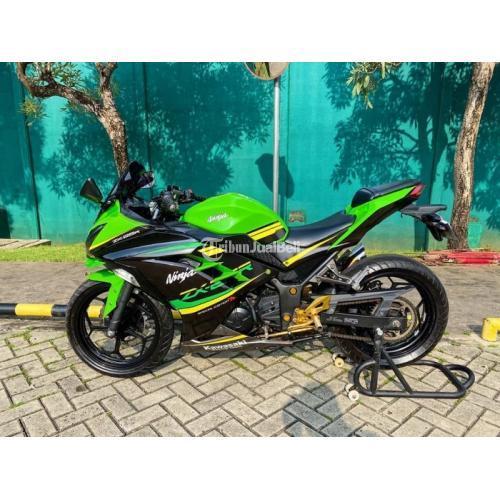 Harga Motor Kawasaki Ninja 250 Bekas Rp 37 Juta Tahun 2015 Full Modif Murah - Jakarta
