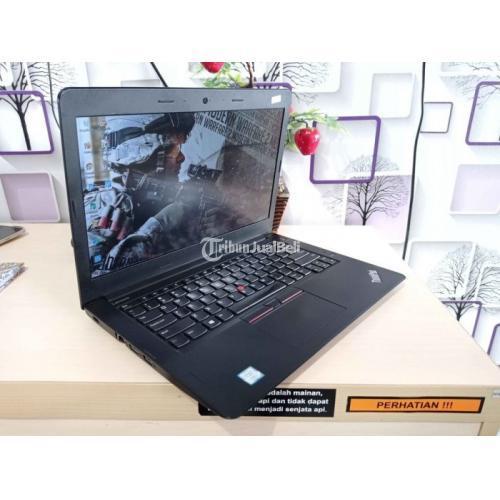 Harga Laptop Lenovo Thinkpad E470 Bekas Rp 4,2 Juta Core i3 Ram 4GB Murah - Jogja