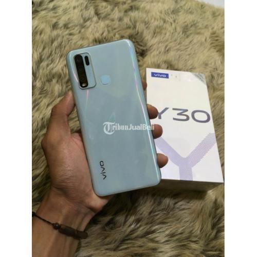 Harga HP Vivo Y30 Bekas Rp 2,35 Juta Nego Ram 4GB 128GB Murah Lengkap - Bandung