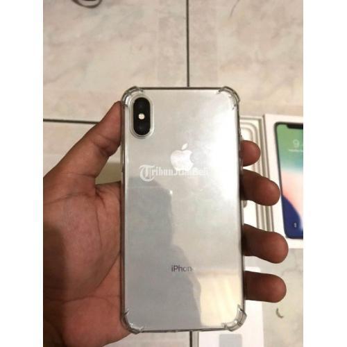 HP Bekas iPhone X 64GB Ex iBox Silver Fullset Mulus Harga ...