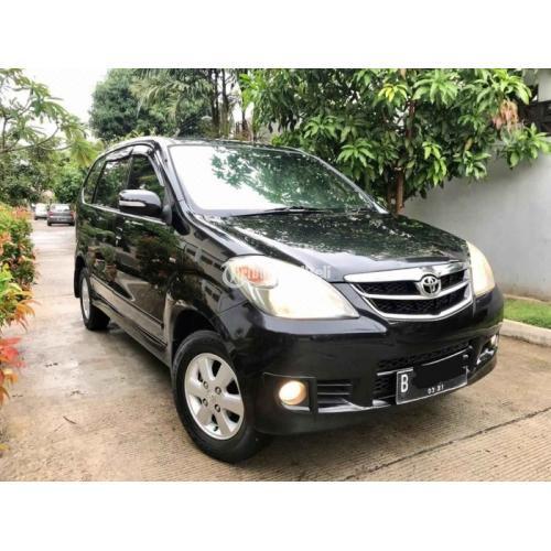 Mobil Bekas Toyota Avanza G Manual 2011 Orisinil Harga ...