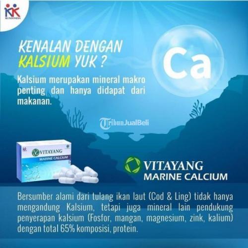 Vitayang Marine Calsium Bersumber Alami dari Tulang Ikan Laut (Cod & Ling) - Bandung