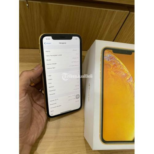HP Bekas iPhone XR 128GB Yellow Ex Inter Garansi On Normal ...
