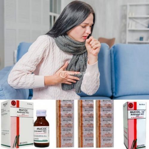 Obat Batuk Mucos, Obat Untuk Batuk Berdahak - Jogja