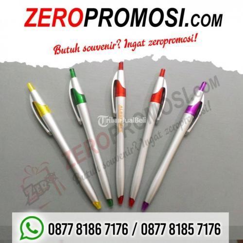 Barang promosi Pulpen 521 Bisa Cetak Logo - Tangerang