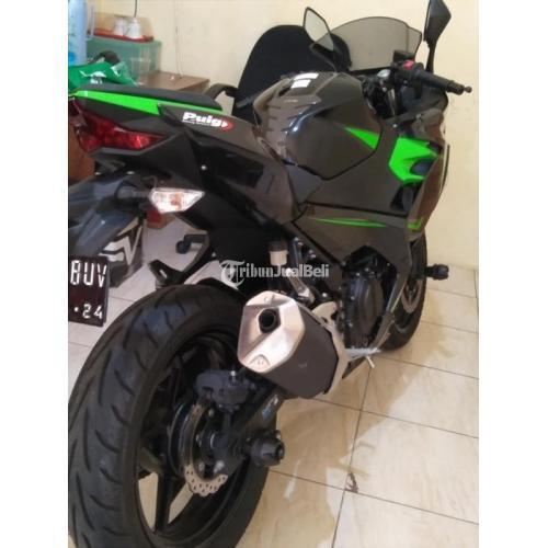 Motor Bekas Kawasaki Ninja 250 Fi MDP Keyless 2019 Mulus Harga Nego - Jakarta