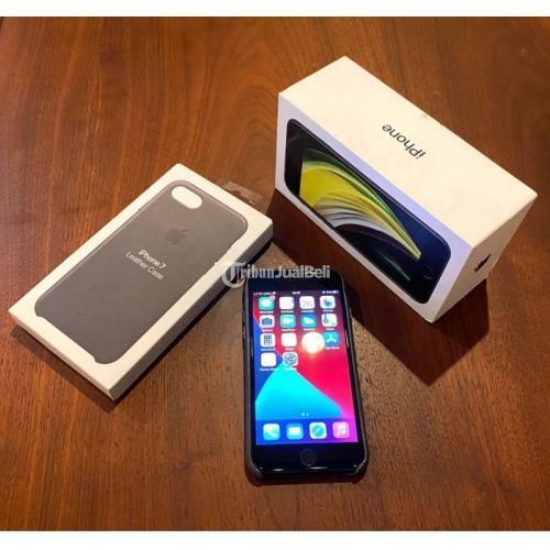 HP Iphone SE 2020 Bekas Harga Rp 7 Juta Like New Lengkap Original Murah - Surabaya