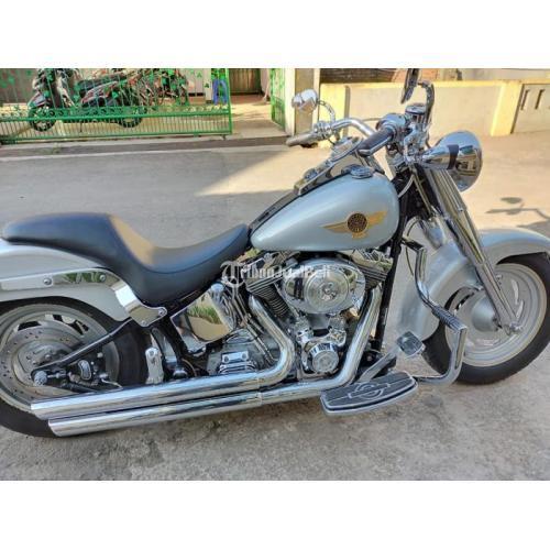Moge Harley Davidson Fatboy Bekas Harga Rp 250 Juta Edisi Terbatas Tahun 2005 - Bandung