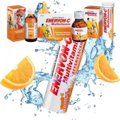 Enervon C Sirup Vitamin C Yang Bagus Untuk Daya Tahan Tubuh Di Jogja Tribunjualbeli Com