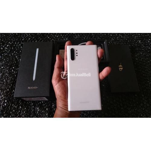 HP Bekas Samsung Note 10+ Resmi SEIN Mulus Nominus Harga Nego - Bekasi