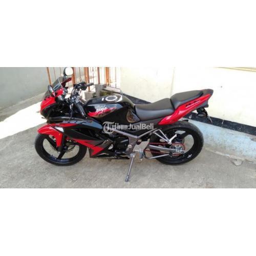 Motor Bekas Kawasaki Ninja RR New 2014 Surat Lengkap Harga Nego - Sukabumi