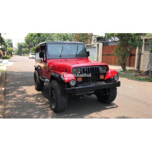 Mobil Bekas Jeep Wrangler YJ 4.0 Matik 1997 Original Normal Harga Murah - Jakarta