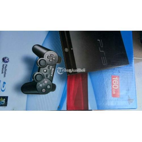 Konsol Game Sony PS3 160GB Mulus Segel Lengkap Aman Harga Nego - Solo