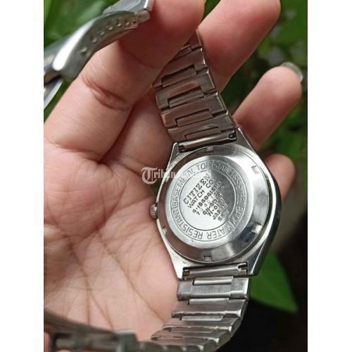 Jam Tangan Bekas Citizen Automatic Diameter 38mm Full Ori Normal Harga Murah - Jogja
