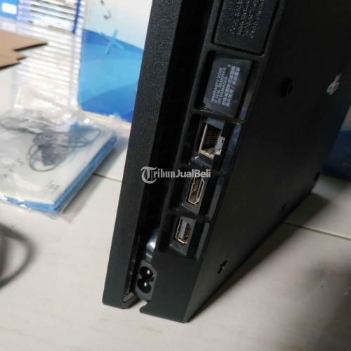 Konsol Game Sony PS4 Slim 500gb 2 Stik Original Normal Segel Harga Murah - Surabaya