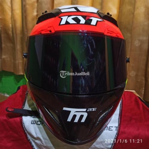 Helm Full Face KYT c5 Race Size S Bekas Bagus Harga Murah - Jogja
