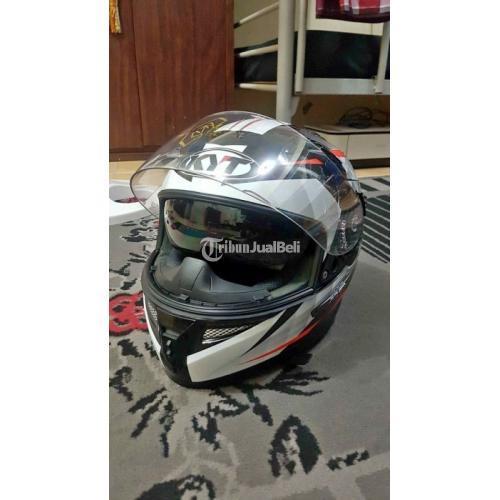Helm Full Face KYT K2R Bekas Mulus Busa Tebal Tidak Cacat Harga Murah - Solo