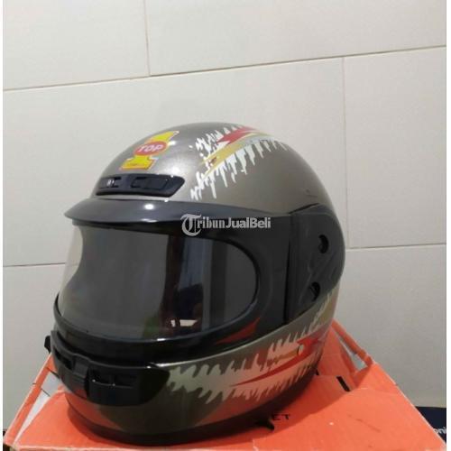Helm Full Face Kragen Top 1 NOS New Old Stok Harga Murah - Jogja