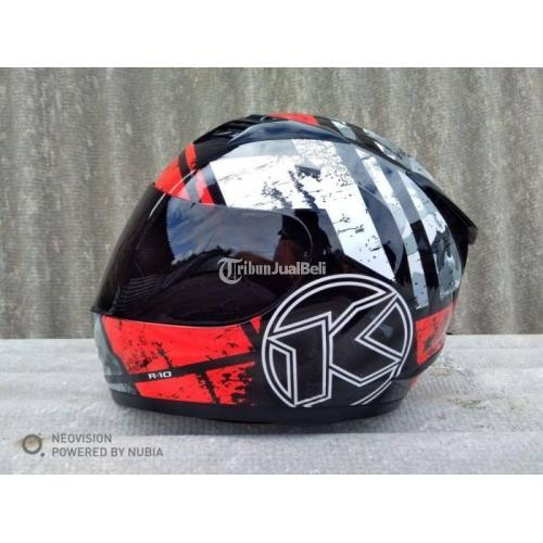 Helm Full Face KYT R10 Seri3 Size M Mulus Busa Aman Harga Murah - Jogja