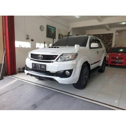 Mobil Toyota Fortuner TRD VNT 2.5 AT Diesel 2014 Bekas Low KM Terawat Harga Nego - Denpasar